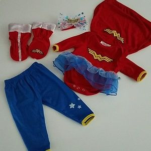 🔴DC Super Woman Infant Costume